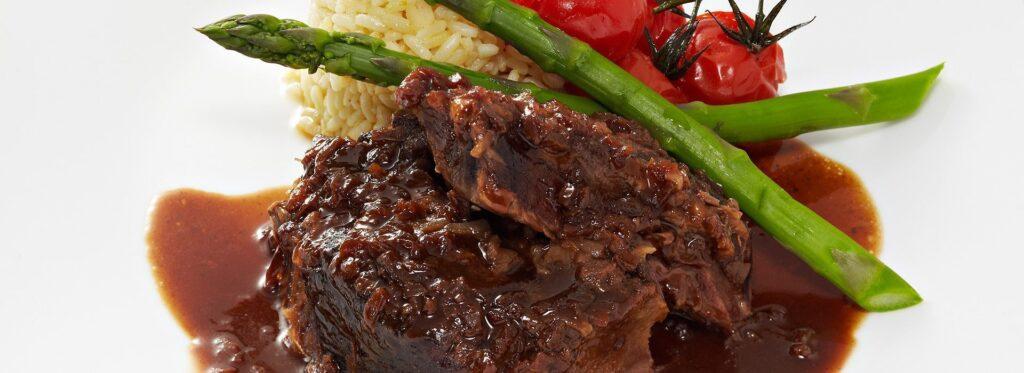 Rôti de palette de bœuf à l'oignon - Recette Berthelet